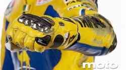 Valentino Rossi in Dainese za otroški nasmeh