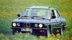 BMW 525 e in BMW 524 td