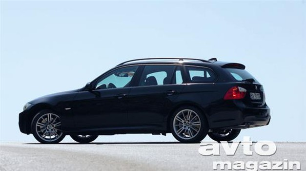 BMW 330 xd Touring (foto: Aleš Pavletič)