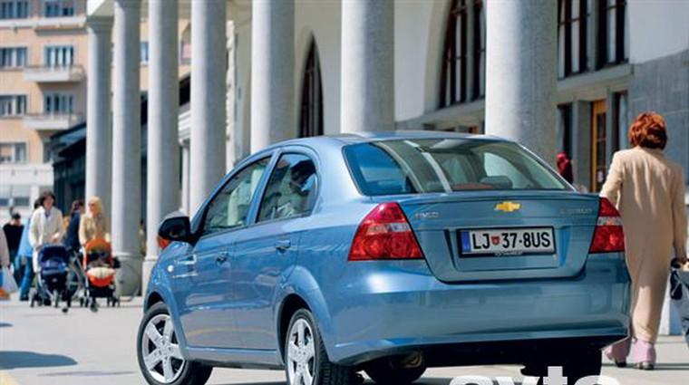 Chevrolet Aveo 1.4 Premium (foto: Aleš Pavletič)