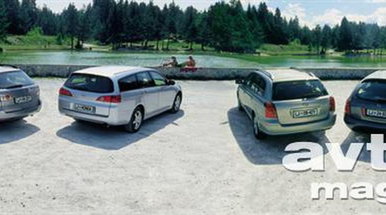 Primerjalni test: Mazda6 Sport Combi, Honda Accord Tourer, Toyota Avensis Wagon, Nissan Primera karavan (foto: Aleš Pavletič)