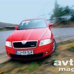 Škoda Octavia RS (foto: Saša Kapetanovič)