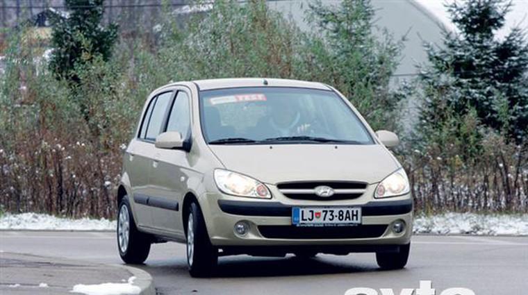 Hyundai Getz 1.4 16V GL Top-K (foto: Aleš Pavletič)