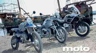 BMW R 1200 GS, BMW R 1200 GS Adventure in BMW HP2
