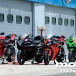 Primerjalni test: Honda CBR 1000 RR Fireblade, Suzuki GSX-R 1000, Kawasaki ZX-10R, Yamaha YZF-R1