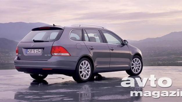 VW Golf Variant: oblika preseneča (foto: Volkswagen)