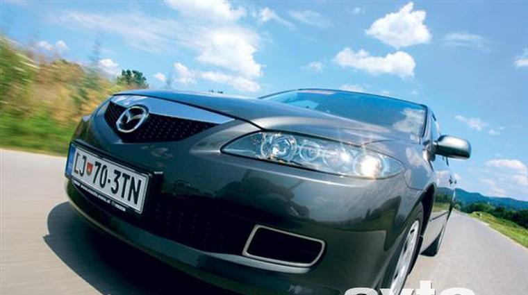 Mazda6 1.8 TE (foto: Saša Kapetanovič)