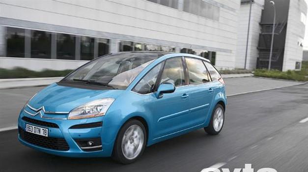 Citroën C4 Picasso je tretji po vrsti (foto: Citroën)