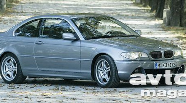 BMW 330Ci SMG (foto: Bor Dobrin)
