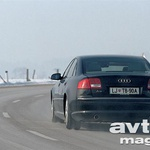 Audi A8 4.2 Quattro (foto: Aleš Pavletič, Saša Kapetanovič)