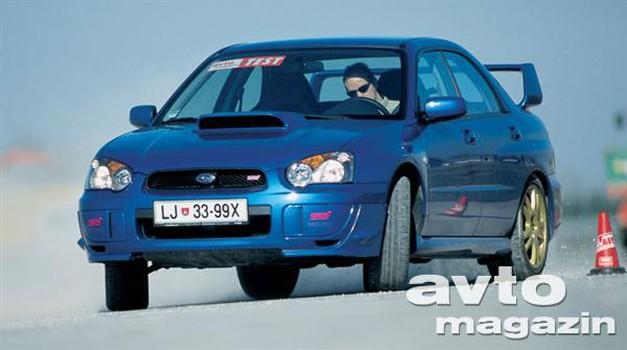 Subaru Impreza WRX STi (foto: Saša Kapetanovič, Aleš Pavletič)