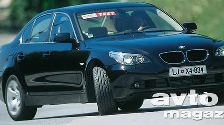 BMW 530dA (foto: Saša Kapetanovič)