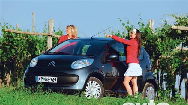 Citroën C1 1.0 SX (foto: Aleš Pavletič, Vinko Kernc)