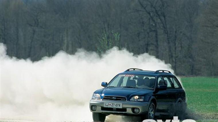 Subaru Outback H6-3.0 (foto: Aleš Pavletič)