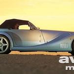 Klasika: dolg motorni pokrov, kratek zadek, na tesno odmerjena streha - kot se za Morgana spodobi.  (foto: Hans-Dieter Seufert)