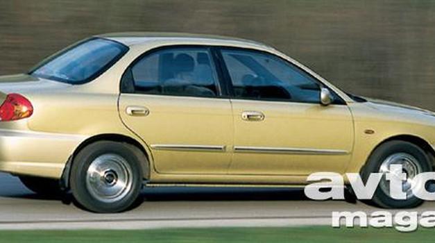 Kia Spectra Sedan 1.6i 16V LS