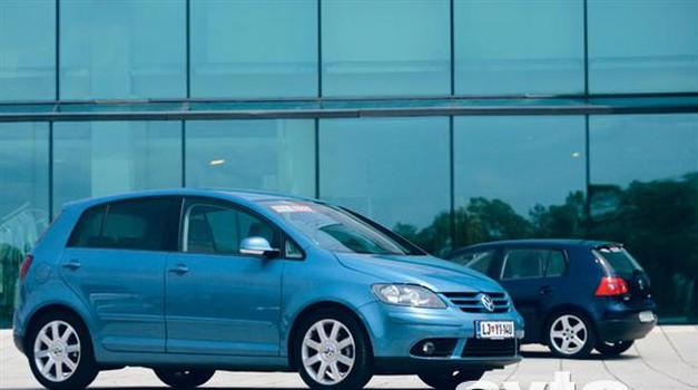Volkswagen Golf Plus 2.0 TDI Sportline (foto: Aleš Pavletič)
