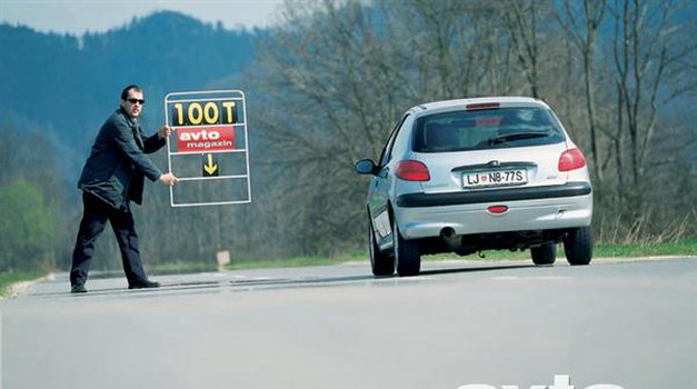 Peugeot 206 1,6 XT (foto: Aleš Pavletič, Uroš Potočnik)