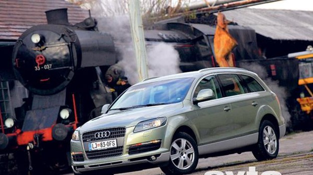 Audi Q7 4.2 FSI V8 Quattro (foto: ? Aleš Pavletič)