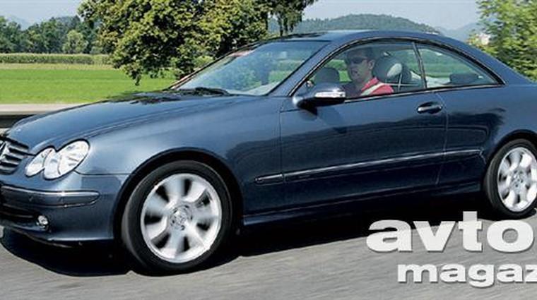 Mercedes-Benz CLK240 Elegance (foto: Aleš Pavletič)