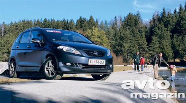 Honda FR-V 1.7 Comfort (foto: Aleš Pavletič)