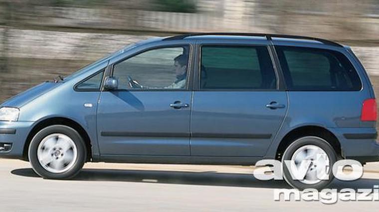 Volkswagen Sharan 1.9 TDI (85 KW) Trendline (foto: Uroš Potočnik)