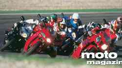 Primerjalni test: Aprilia RSV Miller, Ducati 966, Honda CBR 900 RR, Honda VTR 1000 SP-1, Kawasaki ZX-93, Sukzuki GSX-R 750, Yamaha YZF-R1