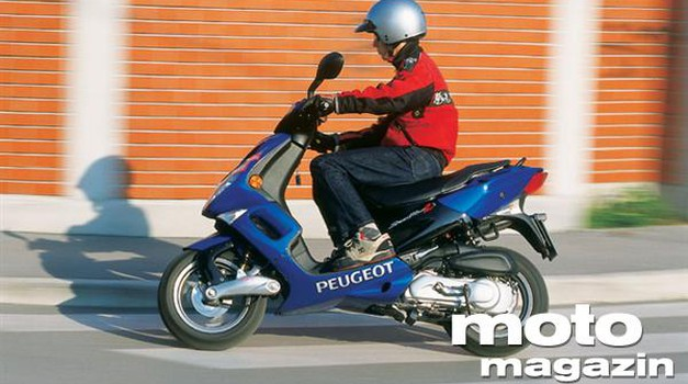 Peugeot Speedfight 2 100T (foto: Uroš Potočnik)