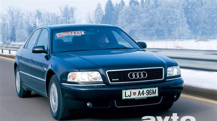 Audi A8 4.2 Quattro (foto: Uroš Potočnik)