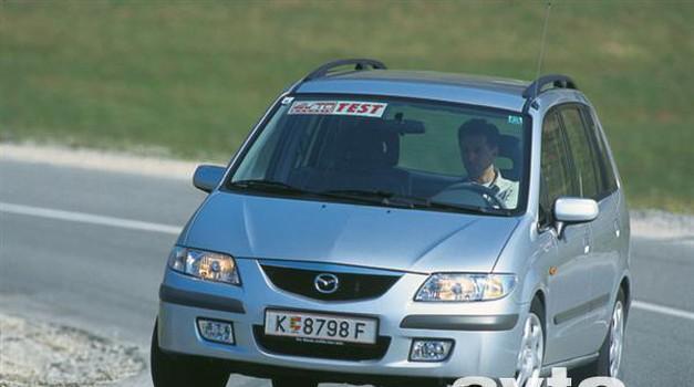 Mazda Premacy DITD (foto: Uroš Potočnik)