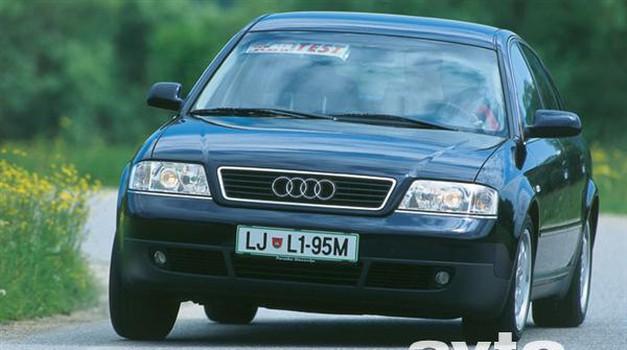 Audi, A6 2.8 Multitronic (foto: Uroš Potočnik)