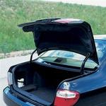 Ogromen prtljažnik (520 litrov) nima zunanjega gumba ali ročice za odpiranje. (foto: Uroš Potočnik)