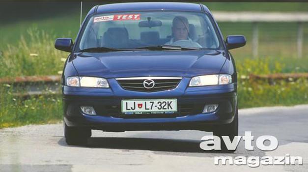 Mazda 626 1.8 16V TE (foto: Uroš Potočnik)