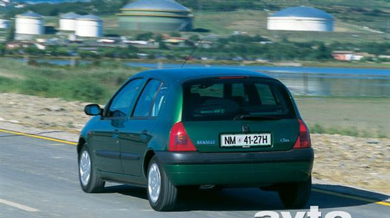 Renault Clio 1.9 dTi RT (foto: Uroš Potočnik)