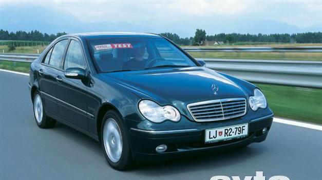 Mercedes-Benz C 220 CDI (foto: Uroš Potočnik)
