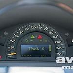 Merilnik hitrosti vsebuje računalniški zaslon s potrebnimi informacijami. (foto: Uroš Potočnik)