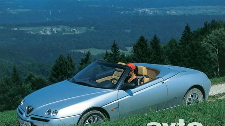 Alfa Romeo Spider 2.0 T. Spark