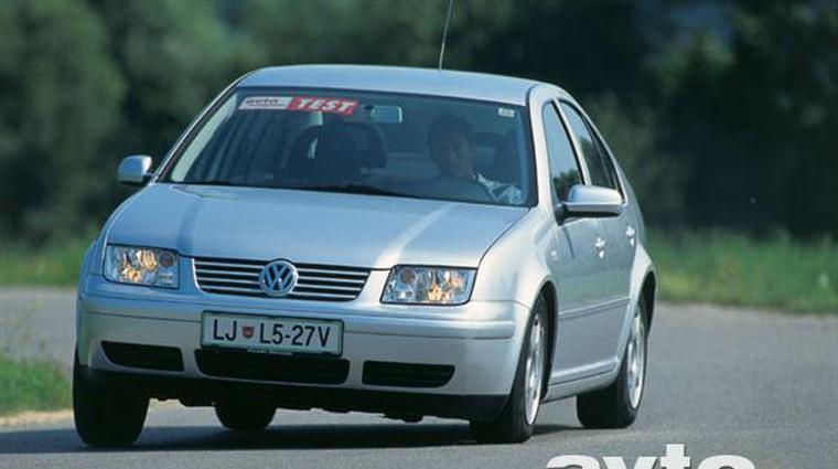 Volkswagen Bora 1.6 16V Trendline (foto: Uroš Potočnik)