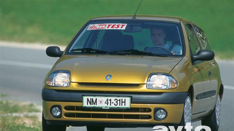Renault Clio RT 1.4 16V (foto: Uroš Potočnik)