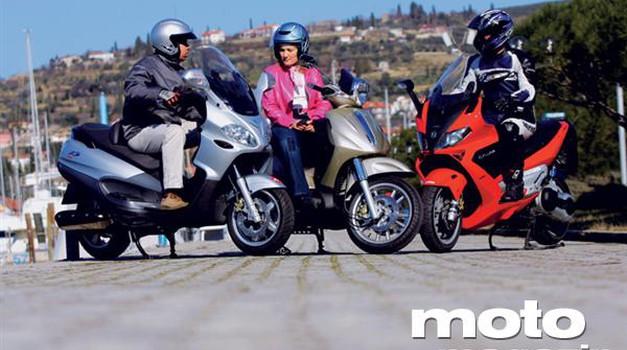 Piaggio Beverly 500, Piaggio X9 Evolution, Gilera Nexus 500