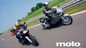 Primerjalni test: BMW K 1200 R in BMW K 1200 S