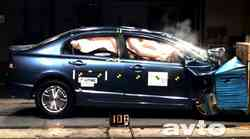 Euro NCAP: Honda Civic Hybrid