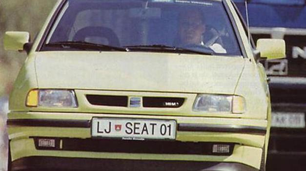 Seat Ibiza GTI 1,8 - 16V (foto: Arhiv AM)