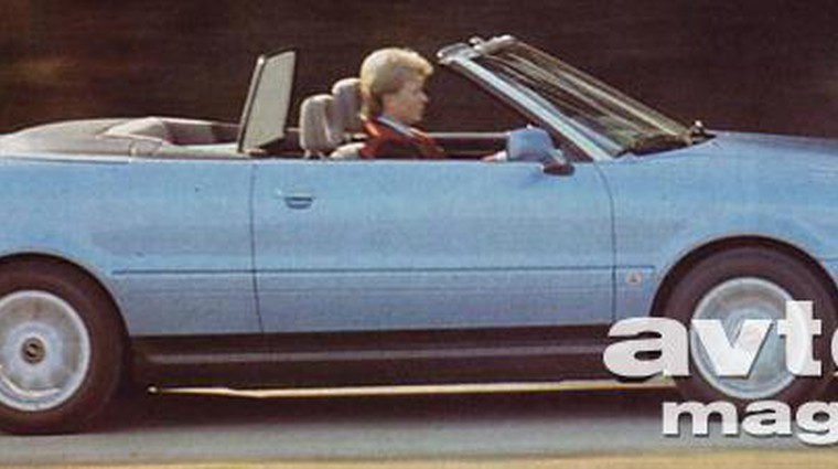 Audi cabriolet in S4 4.2
