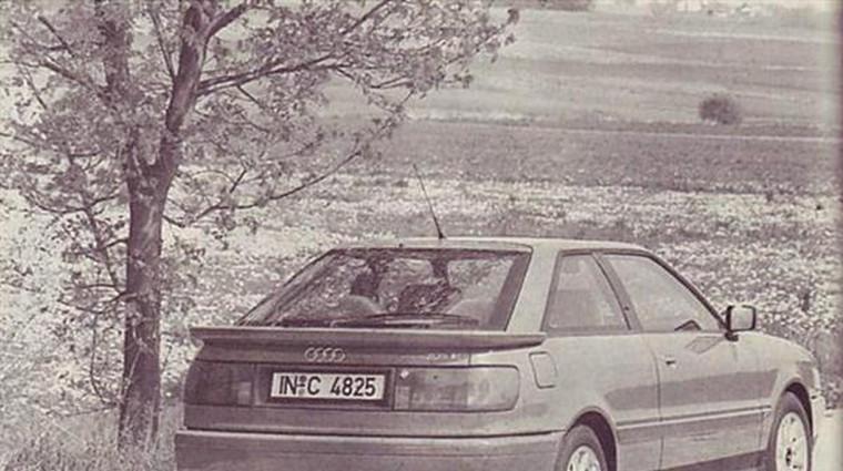 Audi 80 2.6 E in Coupe 2.6 E