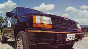 Jeep Grand Cherokee V8 Limited edition
