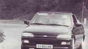 Ford Escort XR3i Cabrio