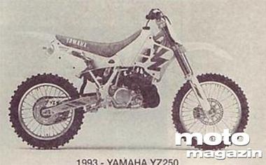 YZ 125 in YZ 250