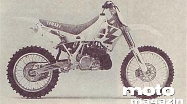 Yamaha YZ 125 in Yamaha YZ 250