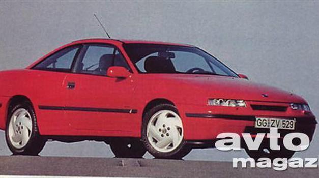 Opel Vectra Turbo 4x4, Opel Calibra Turbo 4x4